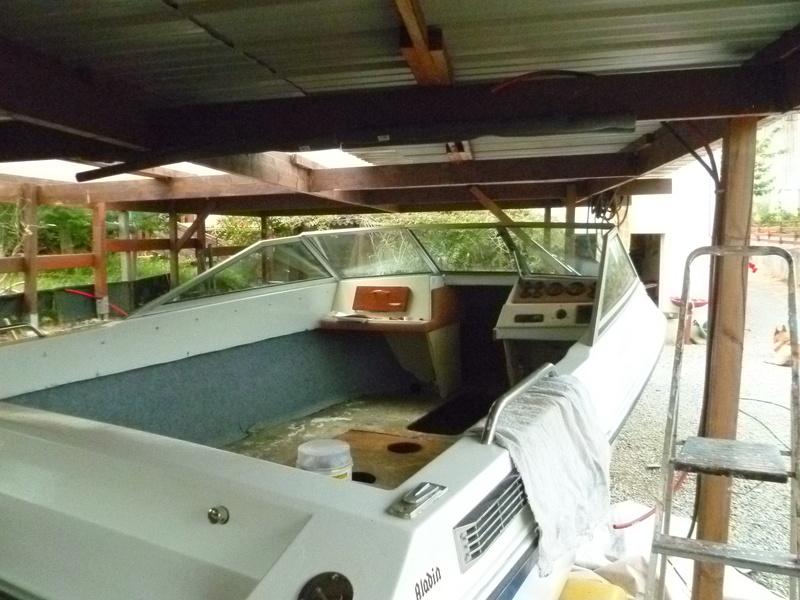 Démontage d'un bateau a moteur et réfection totale - Page 2 P1050815