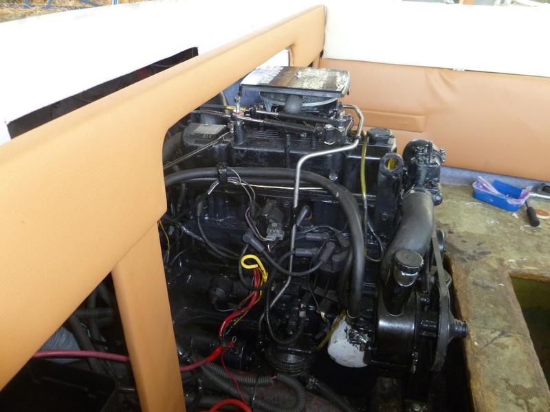 Démontage d'un bateau a moteur et réfection totale - Page 2 P1050925