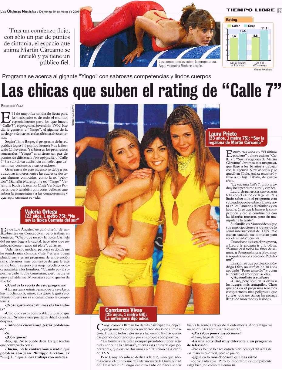 """Las chicas que suben el rating de """"Calle 7"""" Fh14p410"""