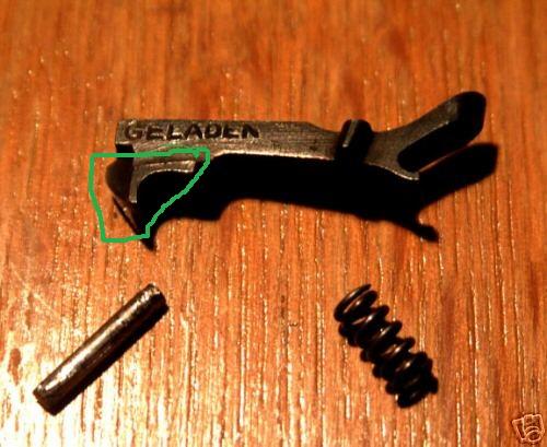 PO8 les pièces à changer pour l'utiliser au Tir en le préservant. Extrac11