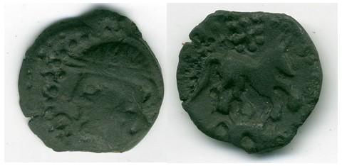 Bronze au cheval et au sanglier (Carnutes) [WM n°7630] Evreux10