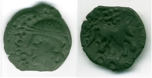 Petit bronze Gaulois.. Evreux13
