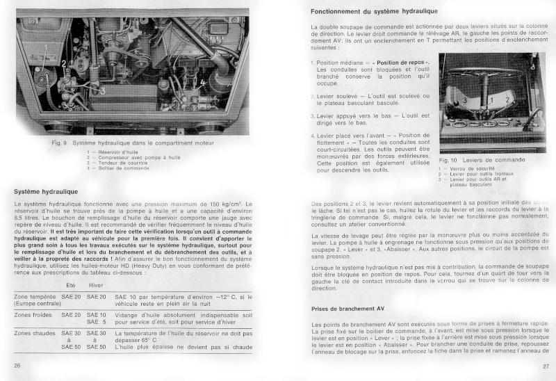 Réservoir hydraulique 1210
