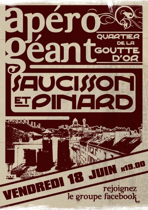 Apéro Saucisson à La Goutte d'Or Qsa110