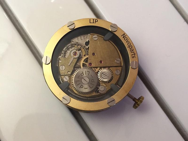 L'horloger NovoParts fait le pari du mouvement français Lipr2310