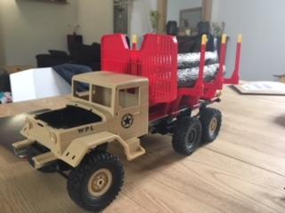 [WPL] Présentation et modifs du petit truck 1/16 Image113