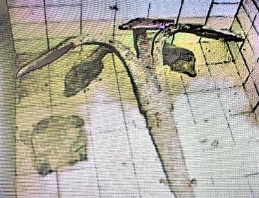 Corvette française 1783 : grappin de mouillage. Img_4510