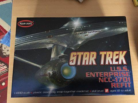 USS ENTERPRISE au 1:350 0111