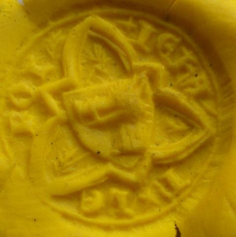 sceau de jean le roi Mout410