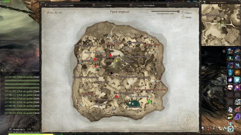 Succès chasse au trésor : Fjord englooutie Carte_10