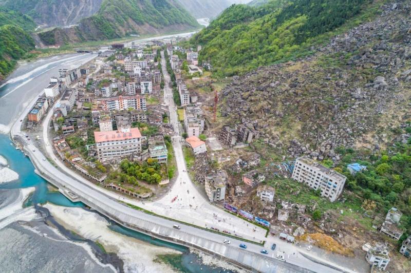 Monuments et mémoriaux rappelant un tremblement de terre Beichu11