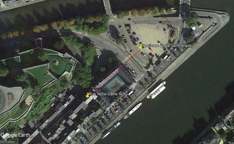 Street View: Bâtiments déplacés Carte110