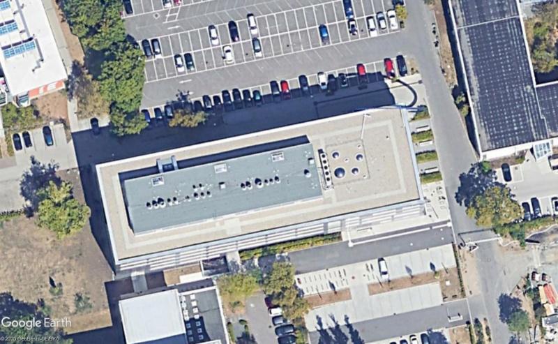 L'anneau du bâtiment de la chimie et de la biotechnologie de l'Université de Darmstadt (Allemagne) Cercea10