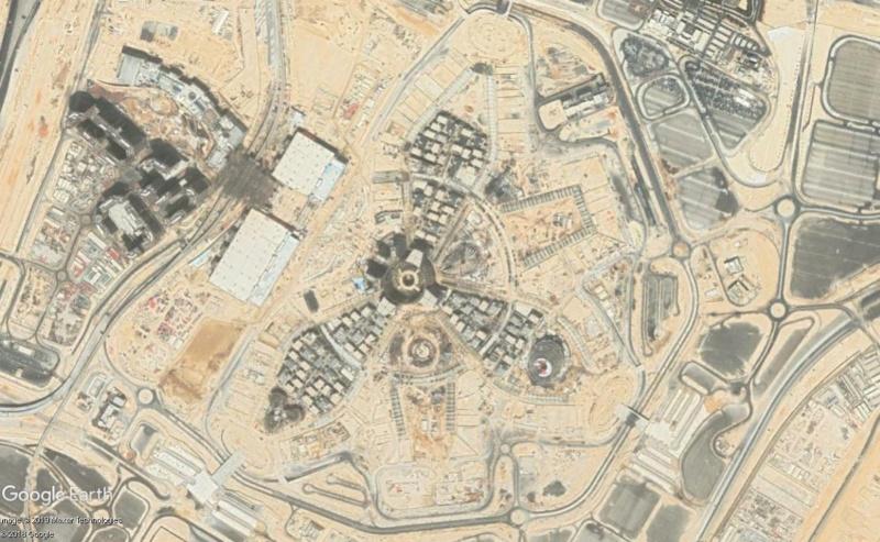 [Désormais visible dans Google Earth] L'Exposition Universelle 2020 à Dubaï - Émirats Arabes Unis  Dubai10