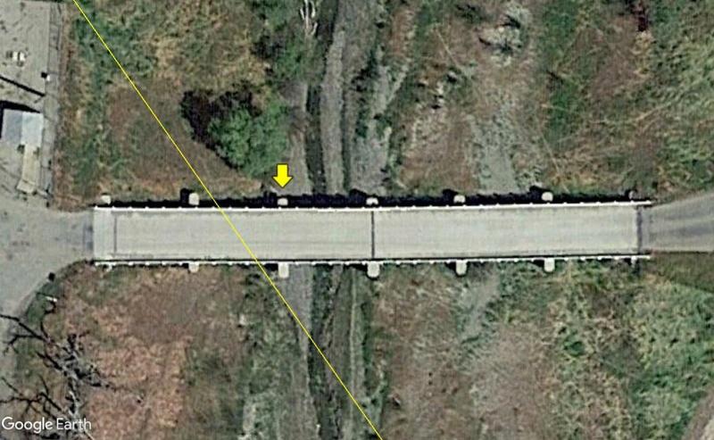 Monuments et traces des failles sismiques. Faille13