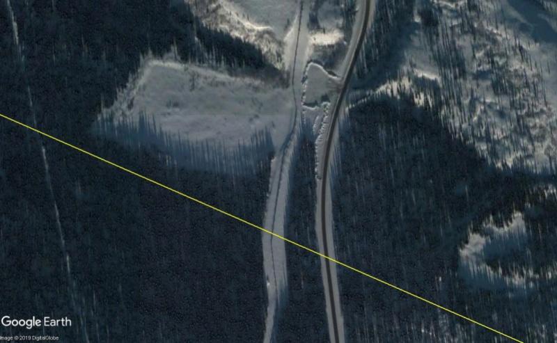 Monuments et traces des failles sismiques. Faille14