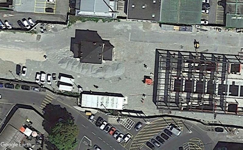 Street View: Bâtiments déplacés Gare210
