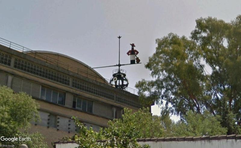 La plus grande girouette du monde, Jerez de la Frontera (Espagne) Giroue10
