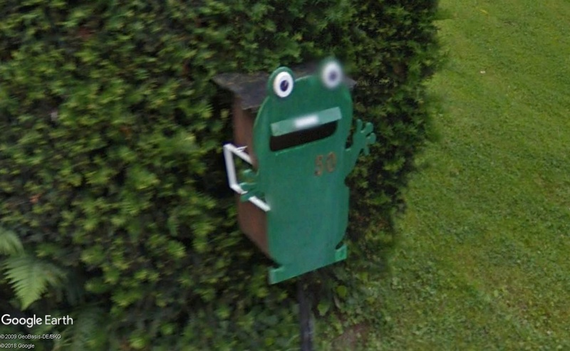 Street View : Les boites aux lettres insolites - Page 4 Grenou10