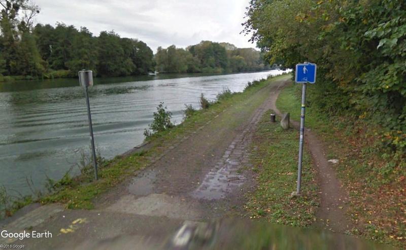 Street View: Les étrangetés du patrimoine wallon. Halage10