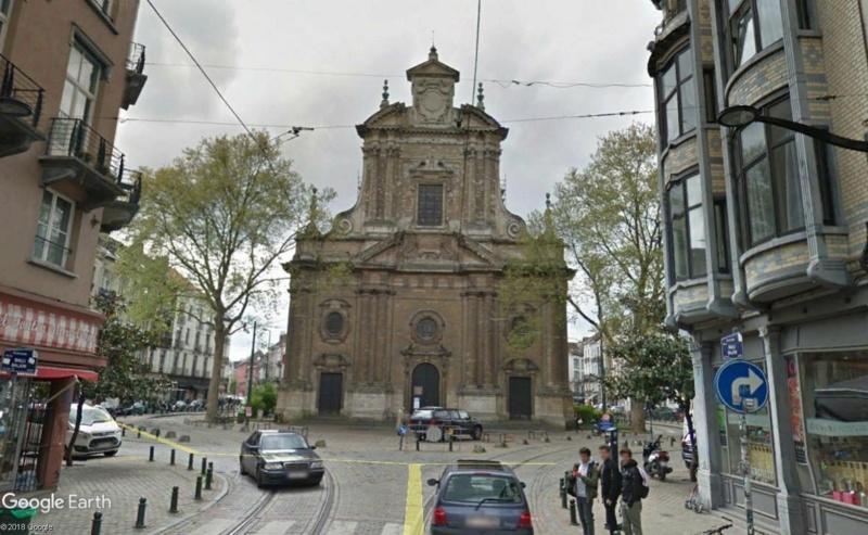 Street View: Bâtiments déplacés Ixelle10