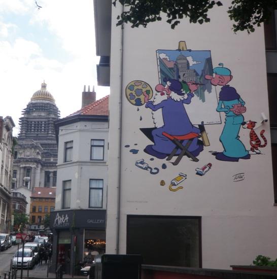 Les parcours BD de Bruxelles, Laeken et Anvers - Page 6 Leonar10