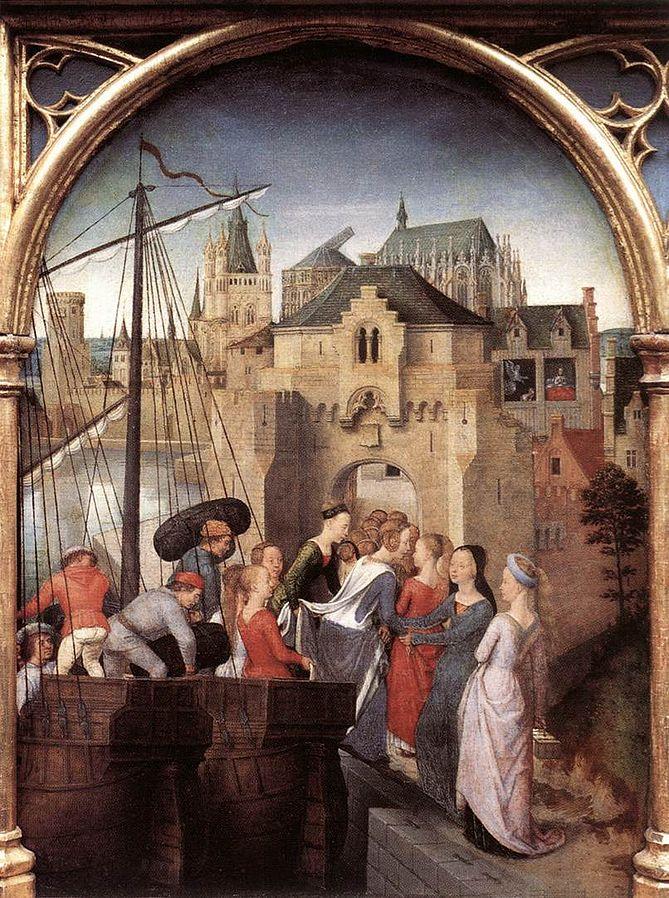 Street View : Lieux représentés sur des peintures célèbres (ou un peu moins) - Page 4 Memlin10