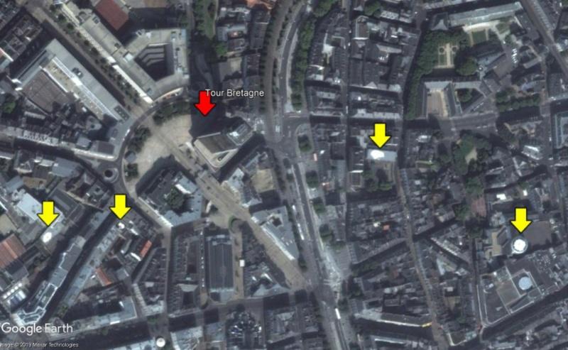 Les quatres oeufs au plat sur les toits de Nantes (France) Oeufs10
