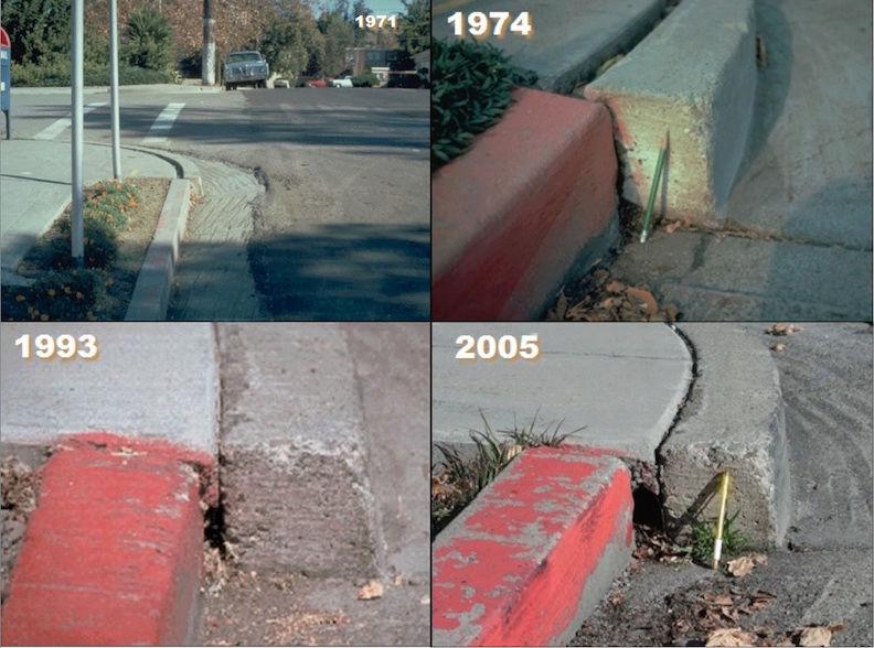 Monuments et traces des failles sismiques. Plate_10