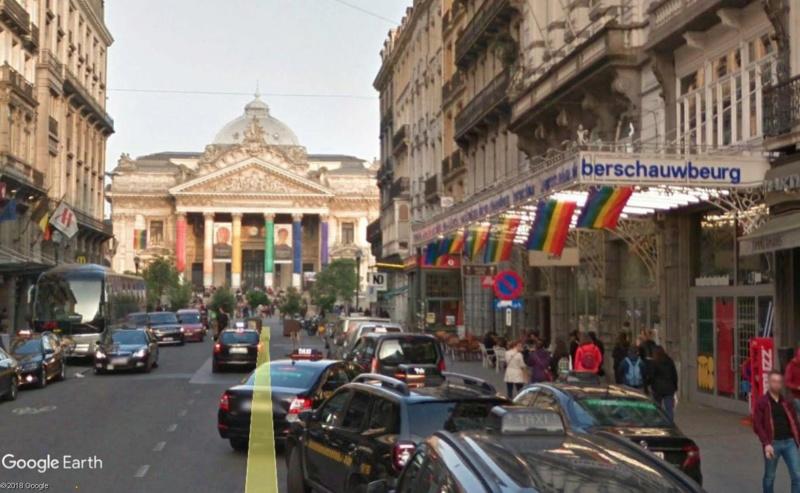 Street View: la street car se retrouve dans les festivités de la Pride de Bruxelles, le 19 mai 2018 Pride10