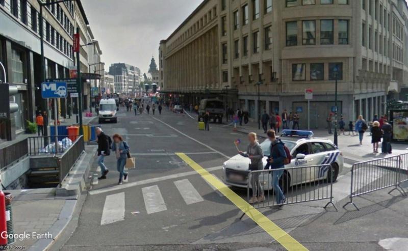 Street View: la street car se retrouve dans les festivités de la Pride de Bruxelles, le 19 mai 2018 Pride210