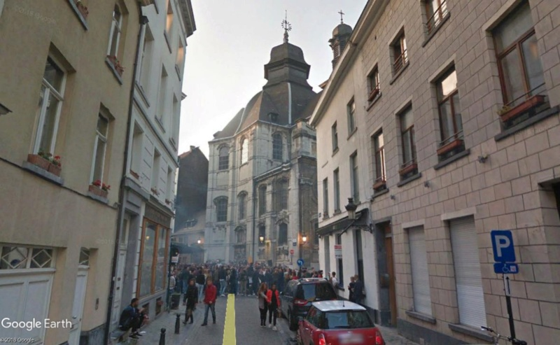 Street View: la street car se retrouve dans les festivités de la Pride de Bruxelles, le 19 mai 2018 Pride410