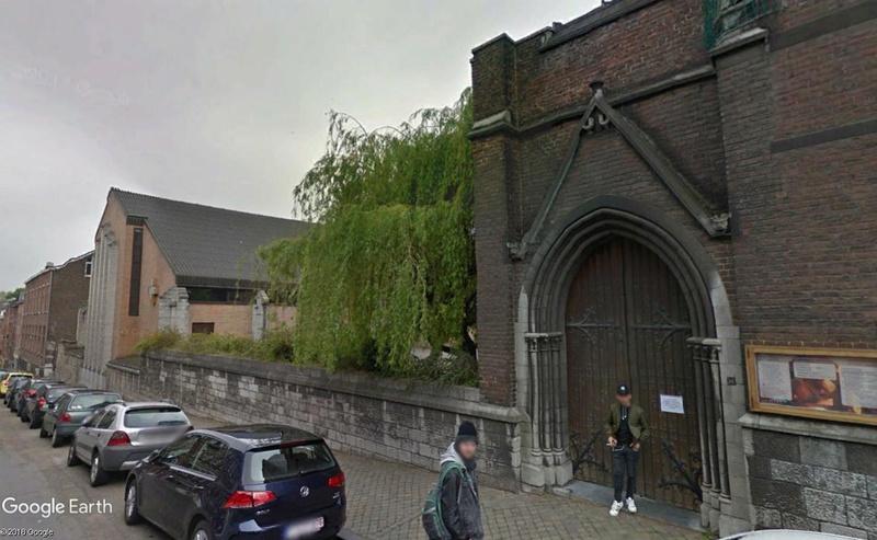 Street View: Les étrangetés du patrimoine wallon. Yglise33