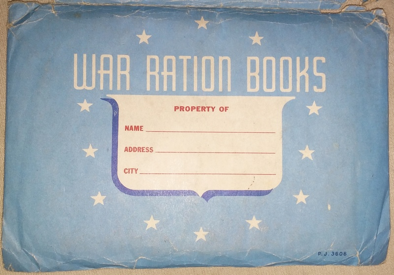 WW2 Rationing 20180123