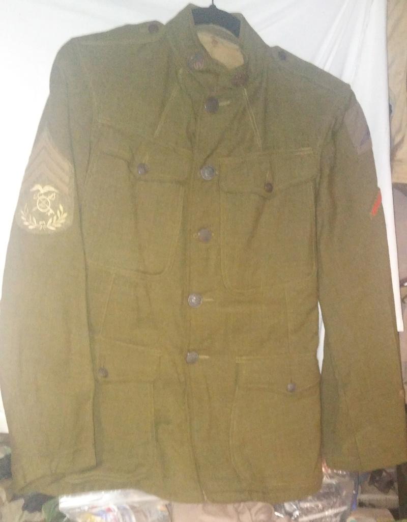 A few of my WW1 Uniforms - Page 2 20180516