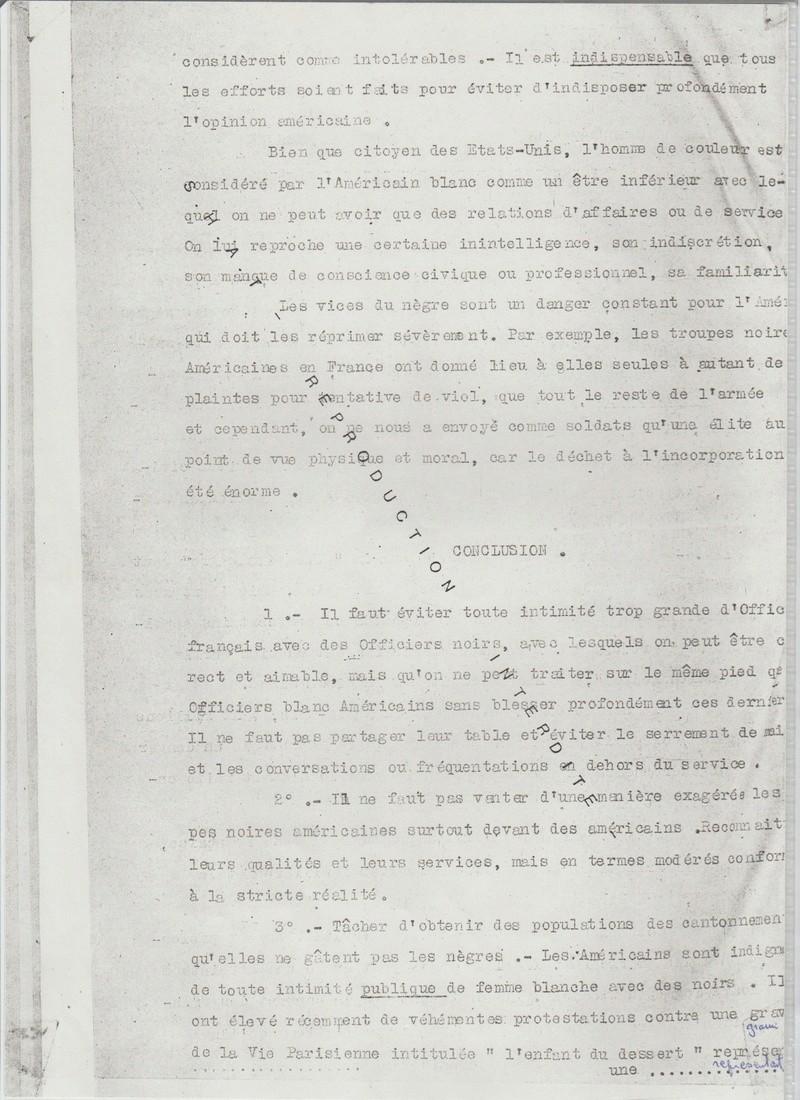Les noirs dans l'armée américaine en 1917, replay France Ô. 00419
