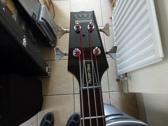 BASS - Thunder 1 A Fretless bass P1000625