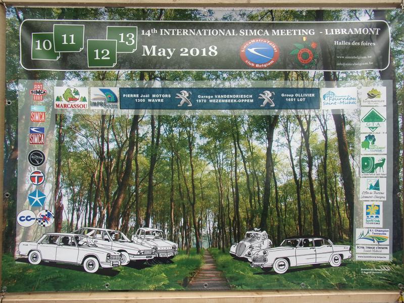 INTERNATIONAL 2018 SIMCA MEETING BELGIQUE  du 10 au 13 mai  - Page 2 4630_p10