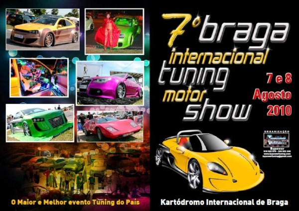 7° Braga international Tuning Motor Show Cartaz10