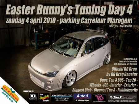 Easter Bunny's Tuning Day 4 Le 4 avril 2010 a Waregem F_lsoe10