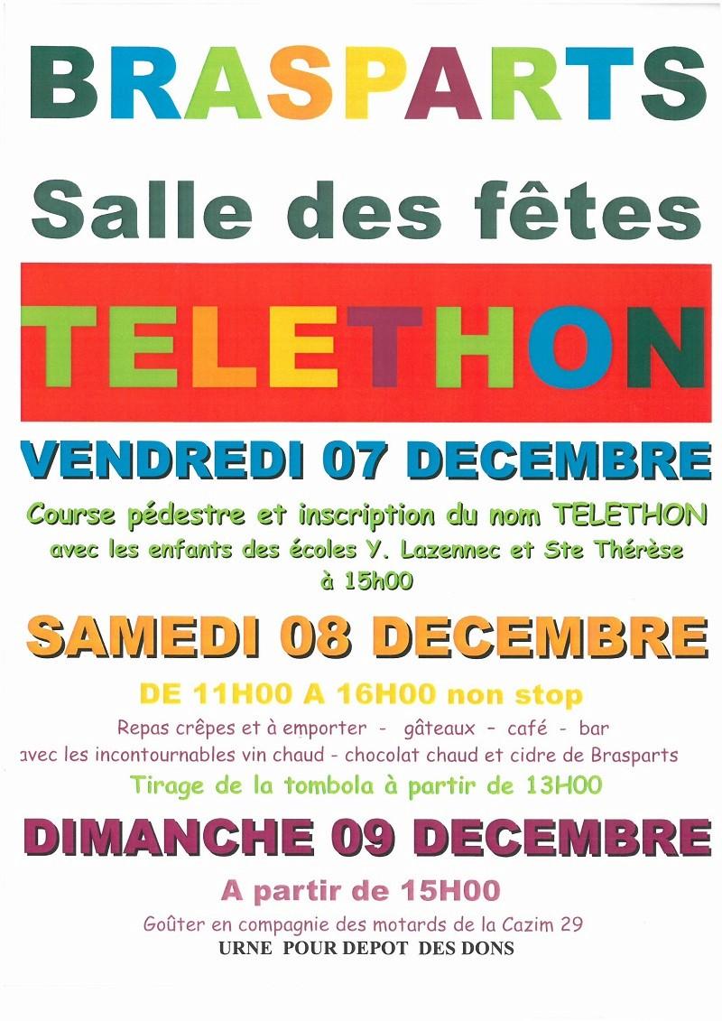 Téléthon les 07 -08 et 09 Décembre Affich12