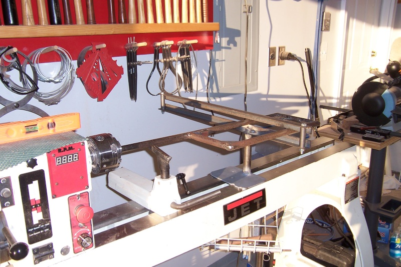 Captive hollowing rig 100_5411
