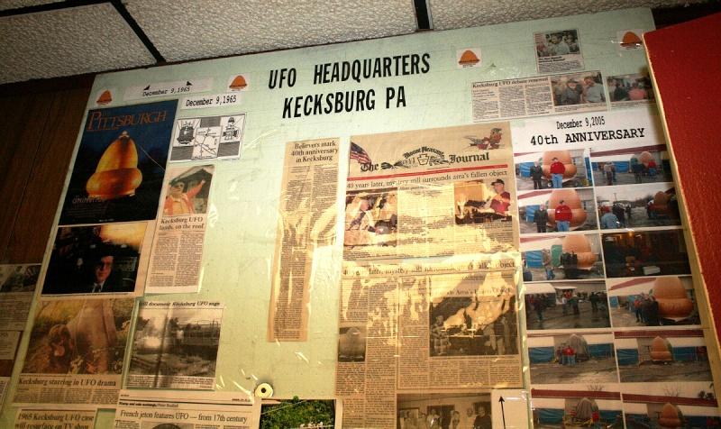 VISITED KECKSBURG! PICS OF REPLICA UFO, UFO STORE, CRASH SITE(METEOR ROAD) >>>> Kecksb14