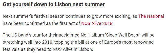 NOS Alive 2020 Kendrick Lamar • Faith No More Captur11