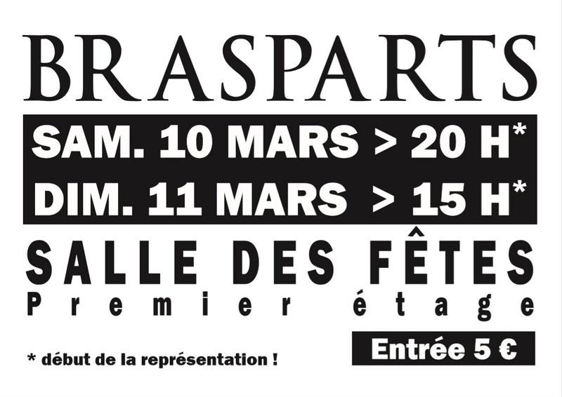 Théatre samedi 10 et 11 Mars 2018-salle des Fêtes Thyatr10
