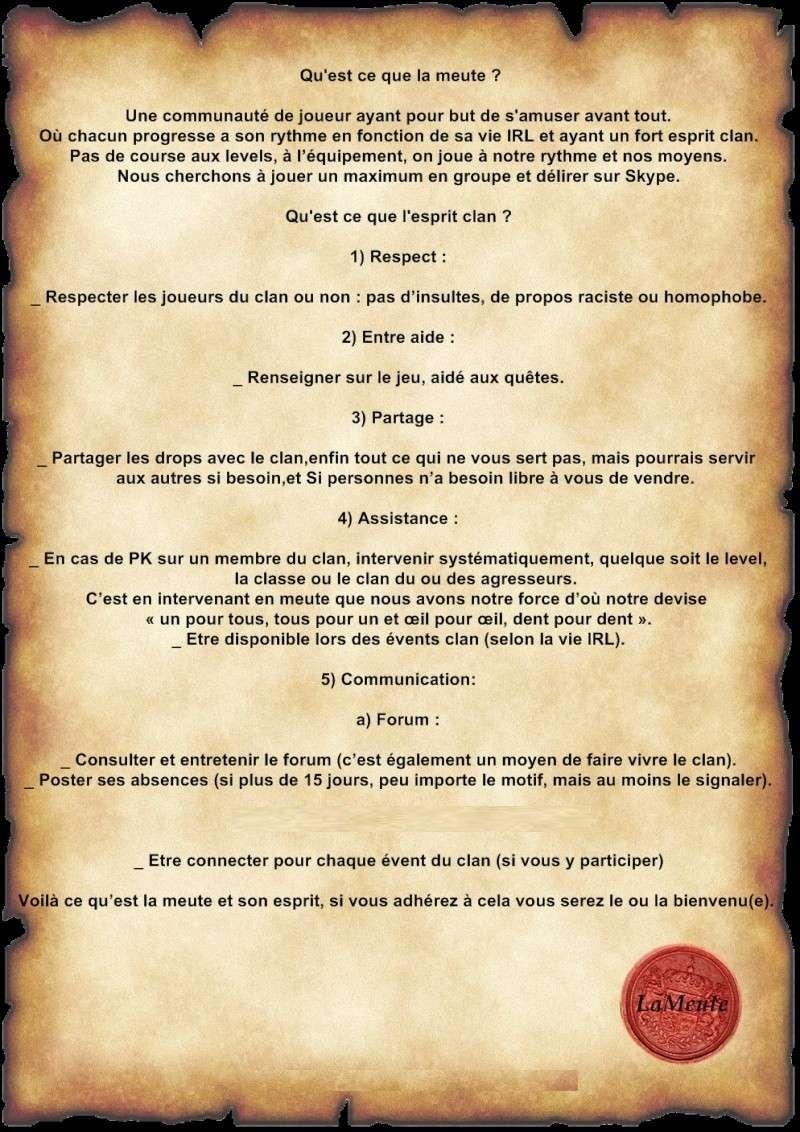 Clan LaMeute sur Linéage et rappelz - Portail Descri10