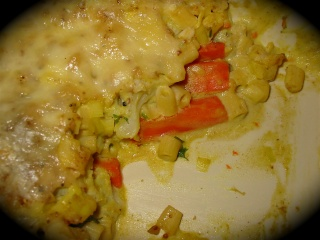 Gratin de chou-fleur et de carottes au lait de coco de Messi 6_midi13