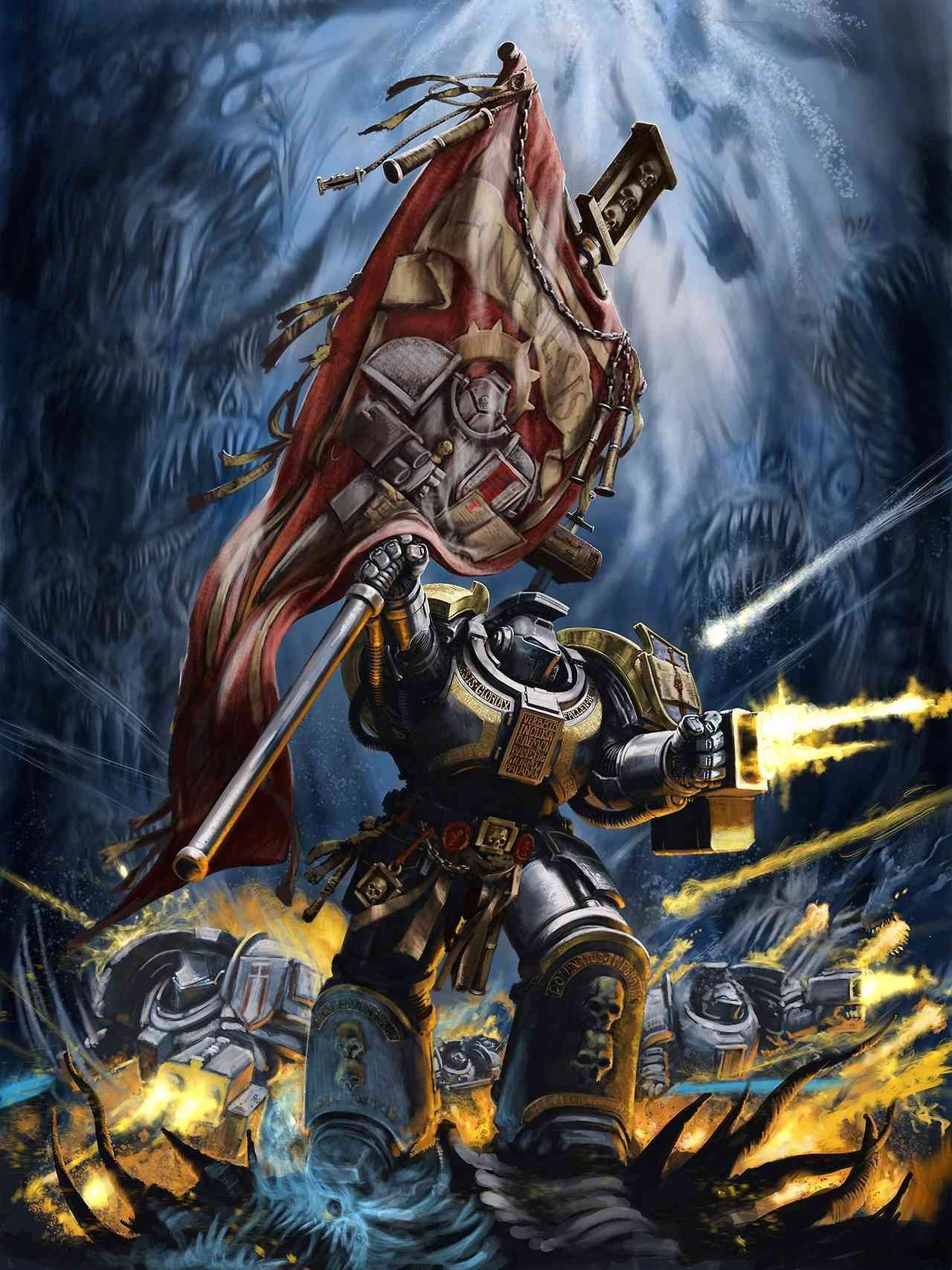 [W40K] Collection d'images : Inquisition/Chevaliers Gris/Sœurs de Bataille - Page 15 Tumblr10