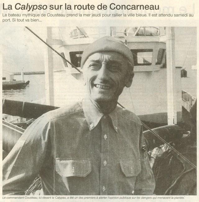 [AUTRES SUJETS DIVERS] LA CALYPSO 162