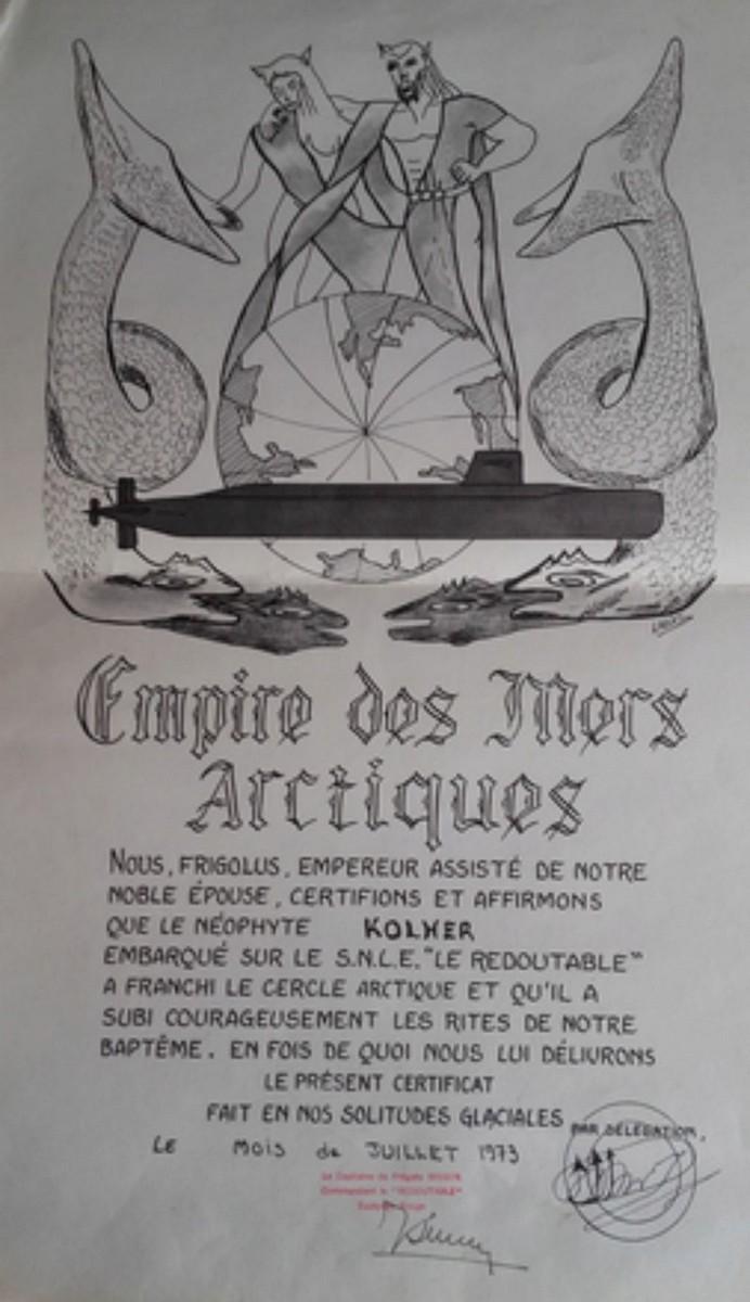 [ Les traditions dans la Marine ] Les diplômes de la Ligne - Page 5 330